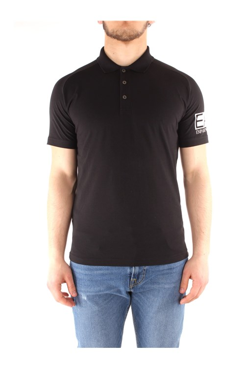 Ea7 Short sleeves BLACK