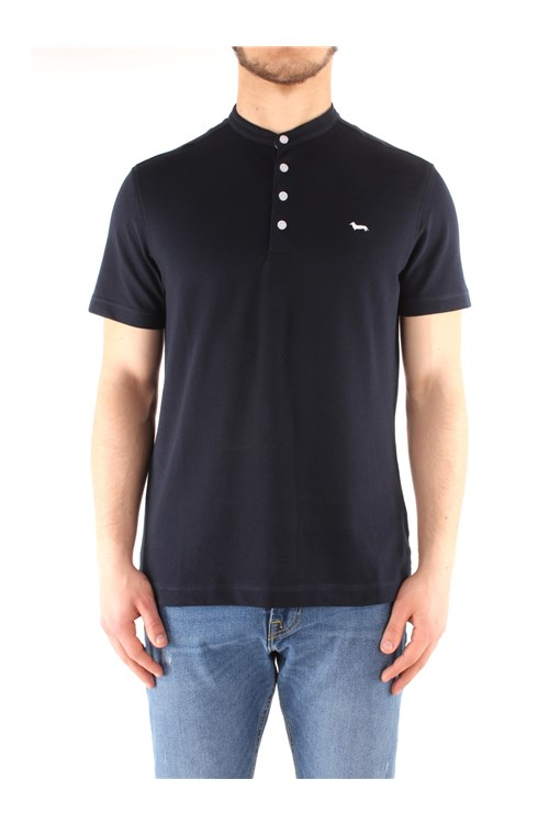 Harmont & Blaine Short sleeves NAVY BLUE