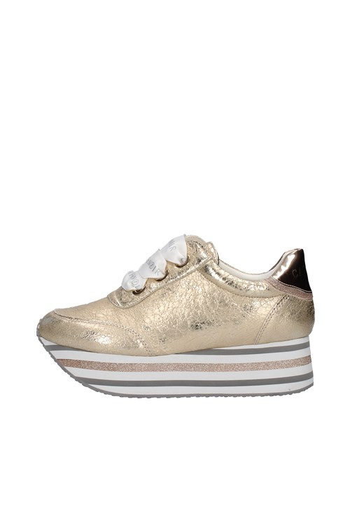 Cafe' Noir Sneakers GOLD