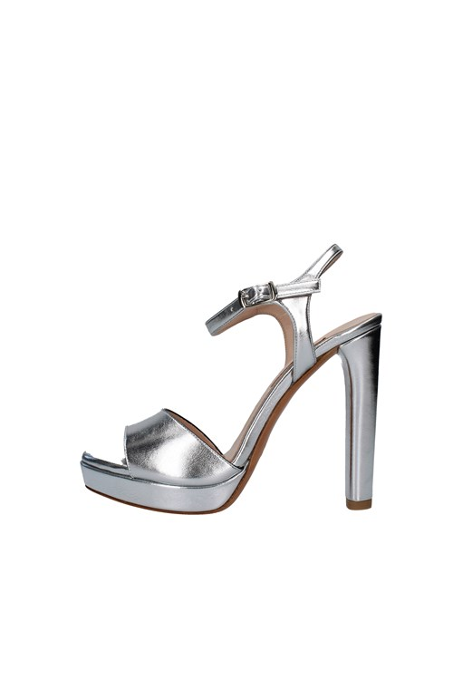Albano Heeled Sandals SILVER