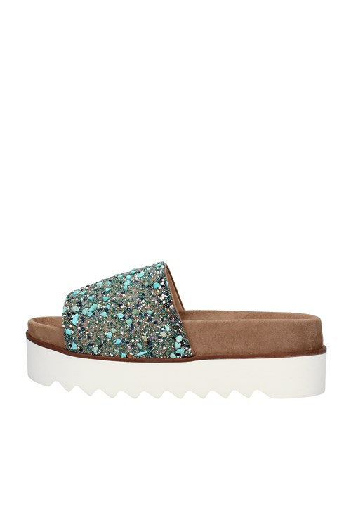 Alma En Pena With wedge TURQUOISE