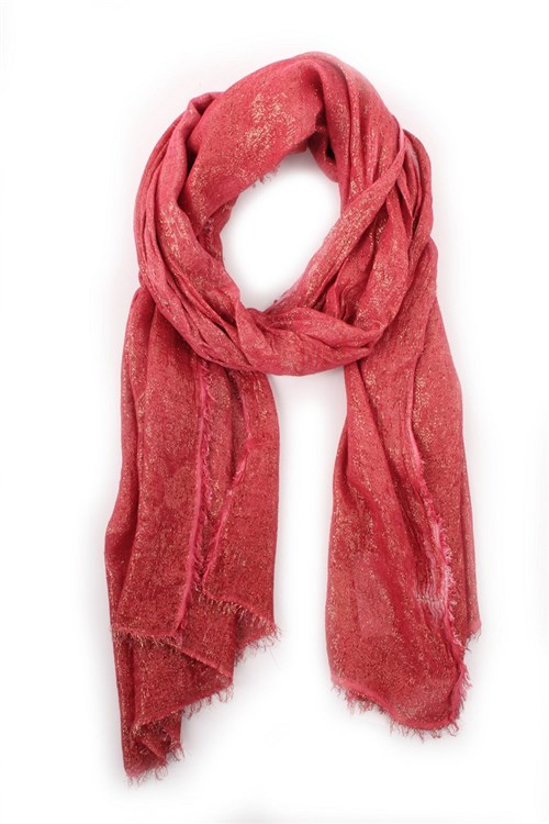 Achigio' Scarves And Foulards RED