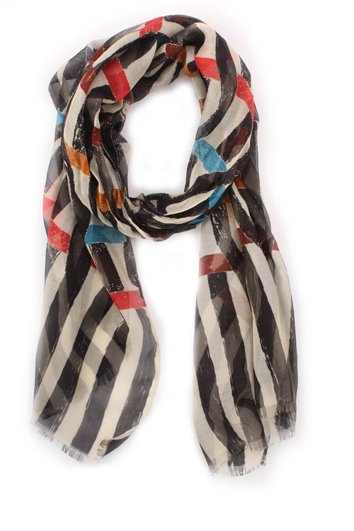 Achigio' Scarves And Foulards ECRU