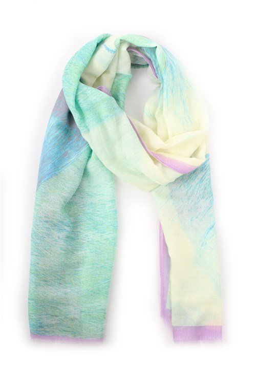 Achigio' Scarves And Foulards GREEN