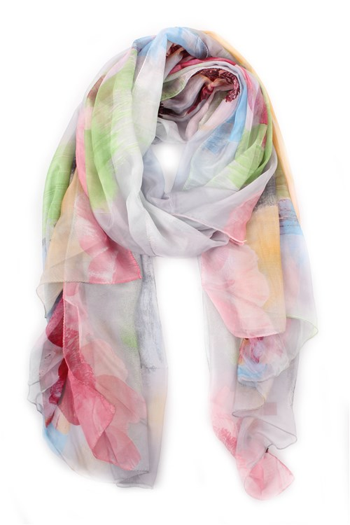 Achigio' Scarves And Foulards ROSE