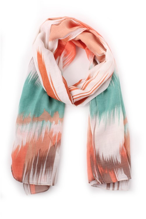 Achigio' Scarves And Foulards ORANGE
