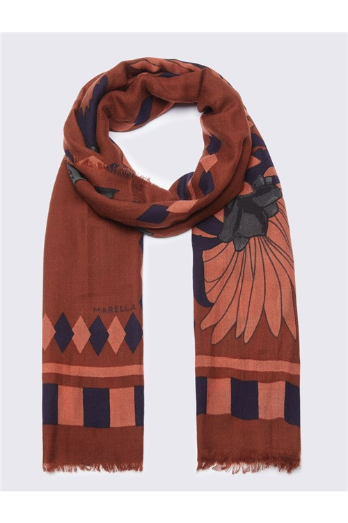Marella Scarves And Foulards BROWN