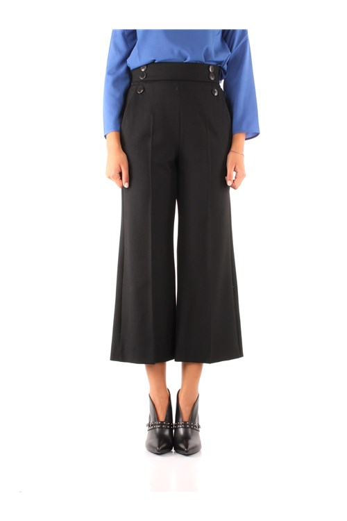Marella Trousers BLACK