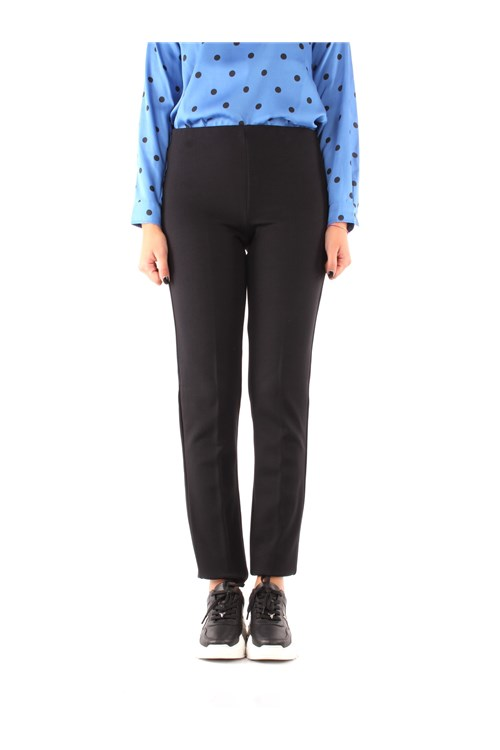 Emme Di Marella Trousers NAVY BLUE