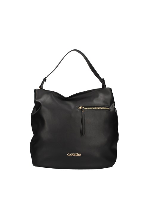 Cafe' Noir Shoulder Bags BLACK