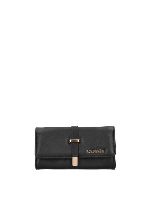 Cafe' Noir Women's wallets BLACK