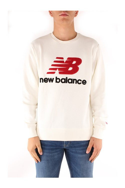 New Balance Sweatshirts WHITE