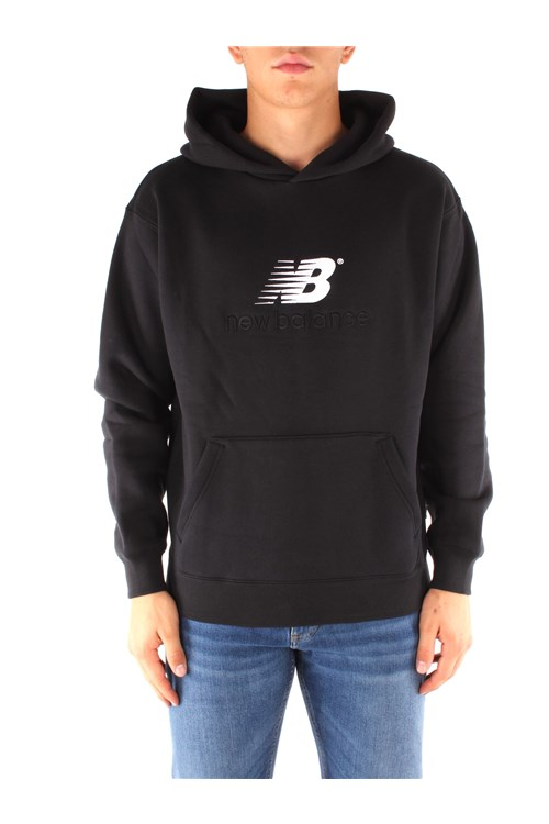 New Balance Hoodies BLACK
