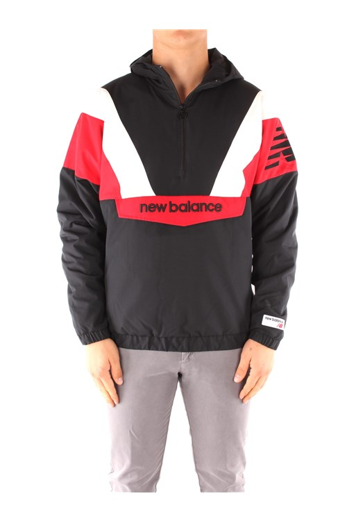 New Balance Jackets BLACK