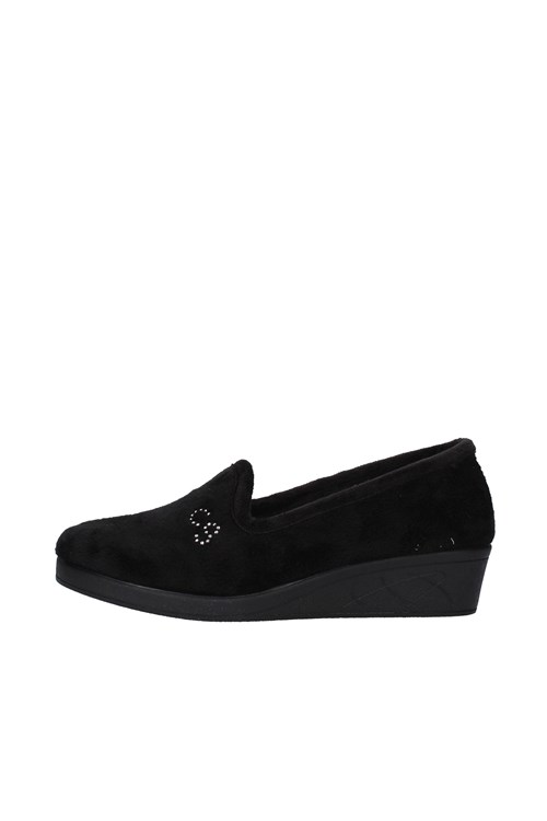 Cinzia Soft Slippers BLACK