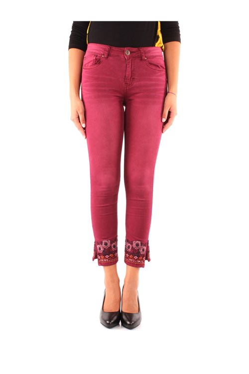 Desigual Trousers RED