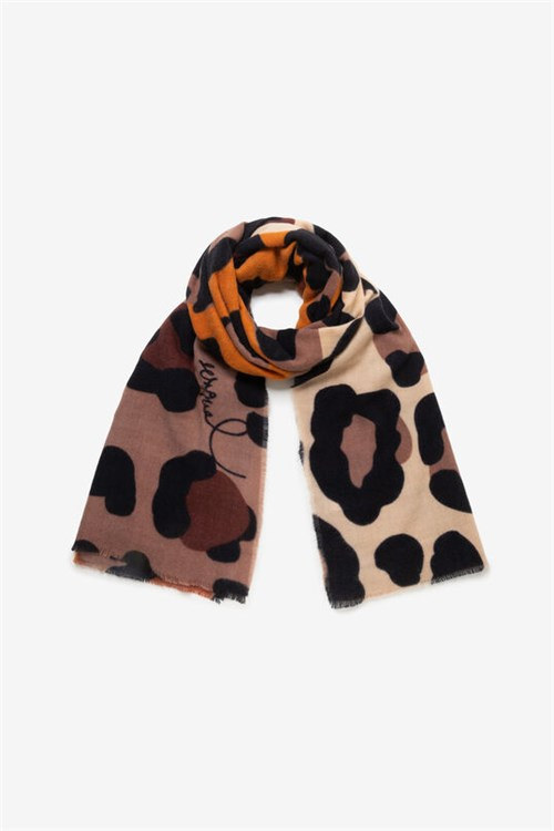 Desigual Scarves And Foulards BROWN