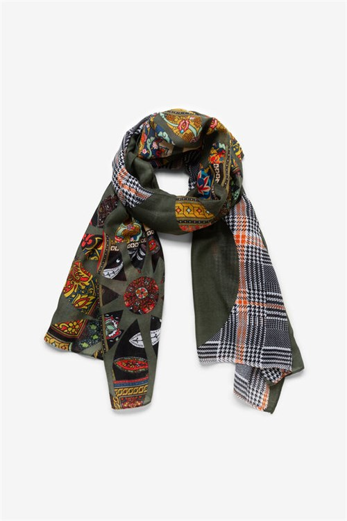 Desigual Scarves And Foulards GREEN