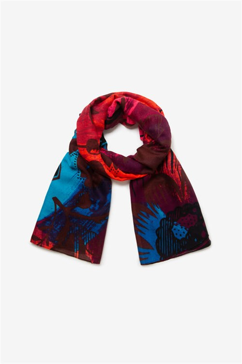 Desigual Scarves And Foulards RED