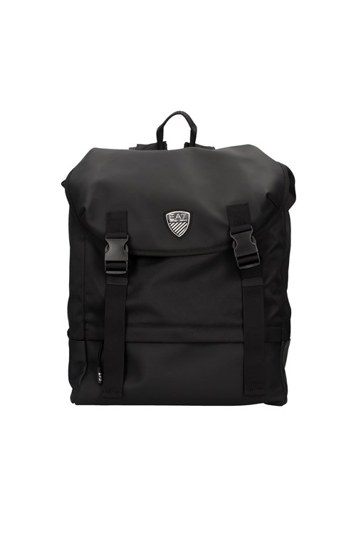 Ea7 Backpacks BLACK