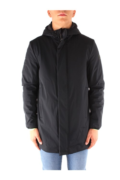 Ea7 Outerwear BLACK
