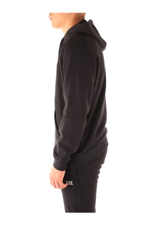 Ea7 Sweatshirts BLACK