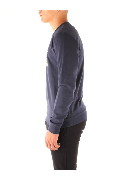Ea7 Sweatshirts NAVY BLUE