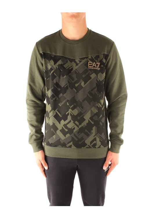 Ea7 Sweatshirts GREEN