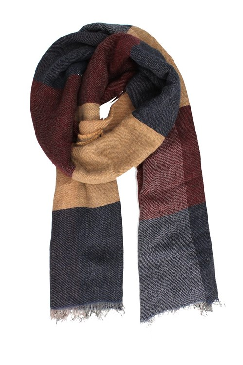 Achigio' Scarves And Foulards BORDEAUX