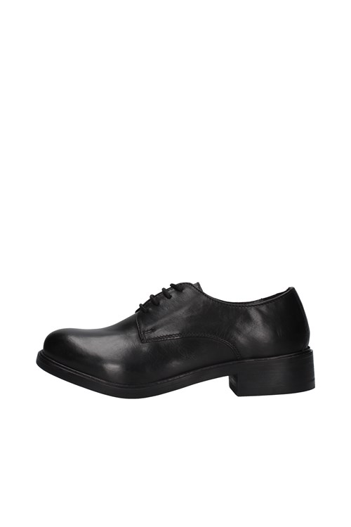 Hl - Helen Shoes With Laces BLACK