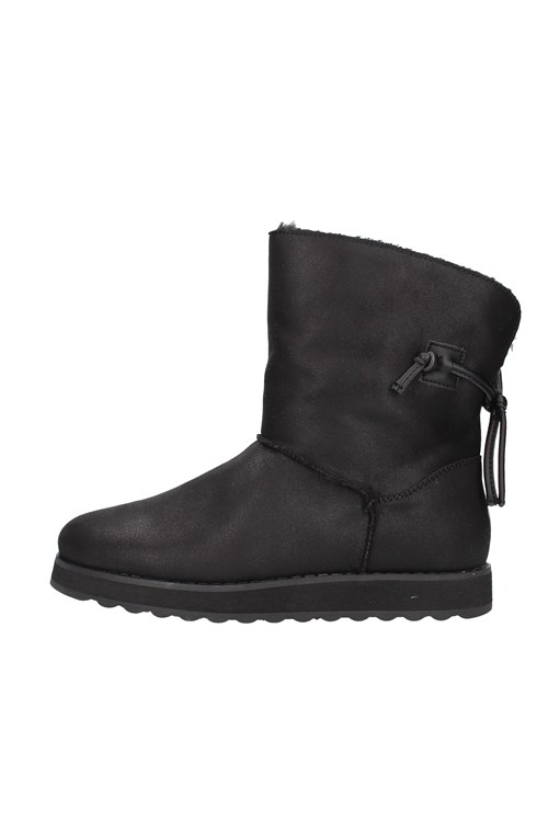 Skechers boots BLACK