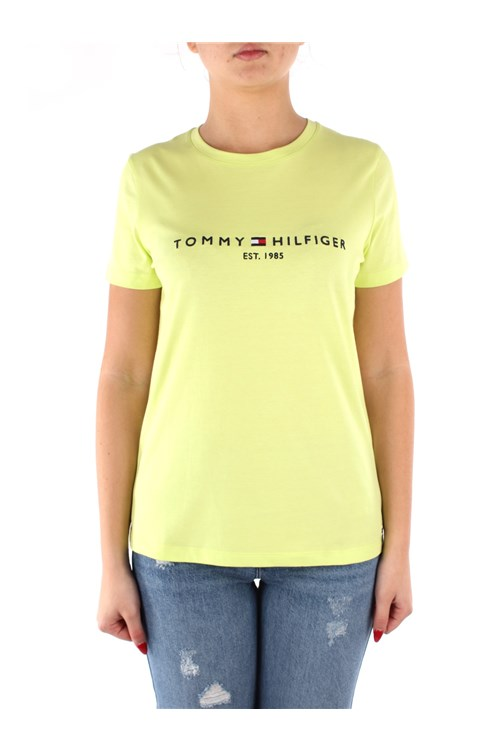 Tommy Hilfiger T-shirt YELLOW