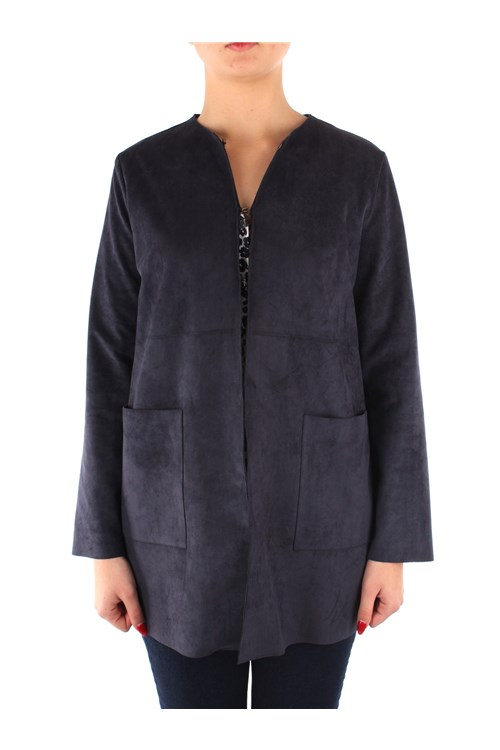 Emme Di Marella Outerwear NAVY BLUE