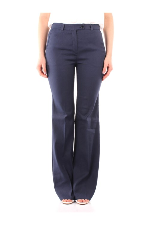 Marella Trousers NAVY BLUE
