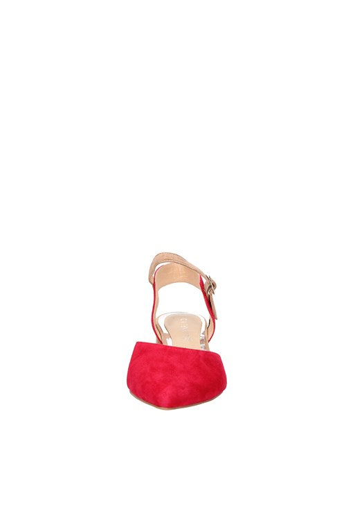 Cafe' Noir Heels RED