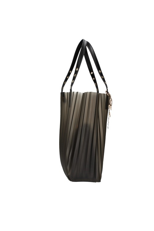 Cafe' Noir Shoulder Bags GREY