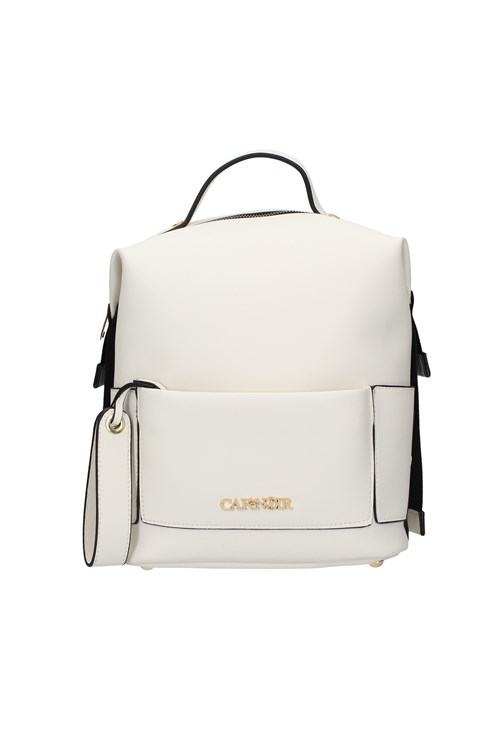 Cafe' Noir Backpacks WHITE