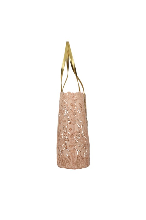 Cafe' Noir Shopping bags PINK