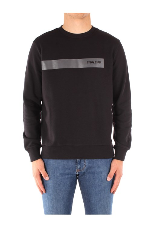Penn-rich By Woolrich Sweatshirts BLACK