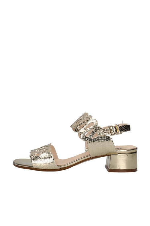 Melluso With heel GOLD