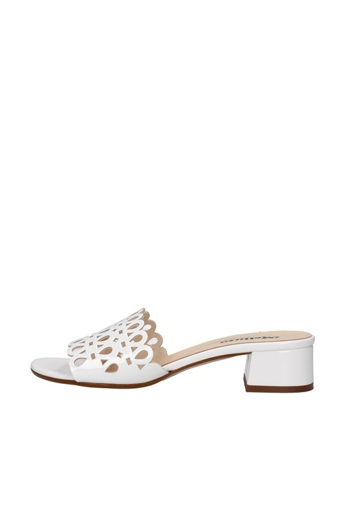 Melluso With heel WHITE