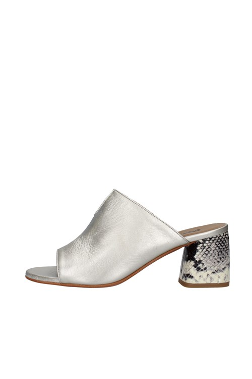 Melluso With heel SILVER