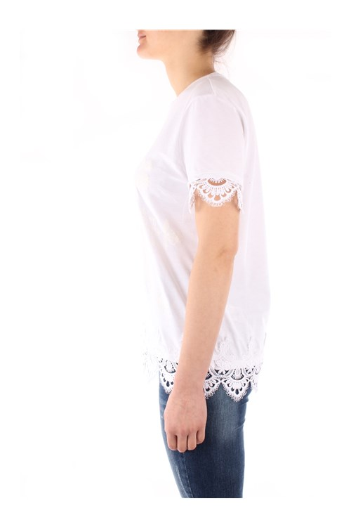 Desigual  Short sleeve WHITE