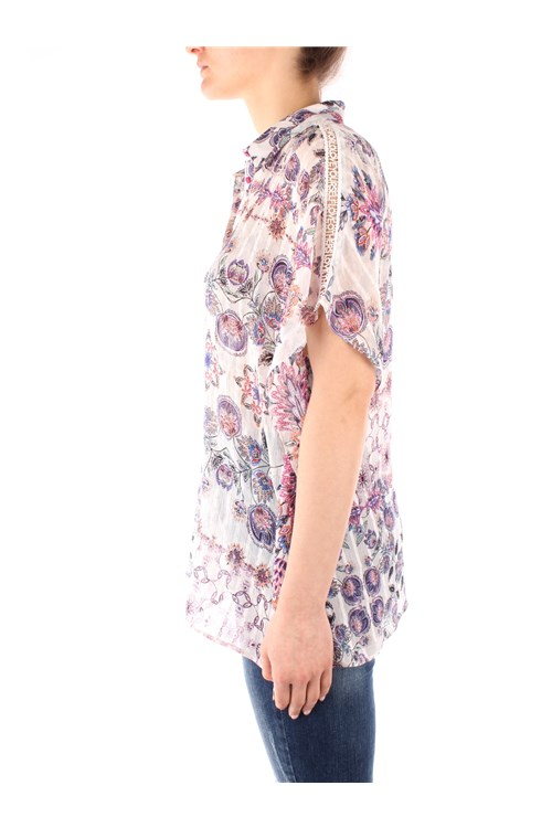 Desigual Short sleeve shirts PINK