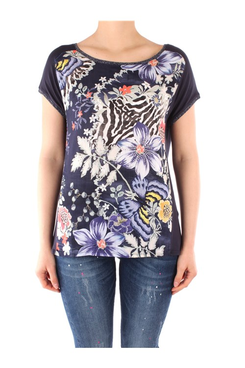 Desigual Short sleeve NAVY BLUE