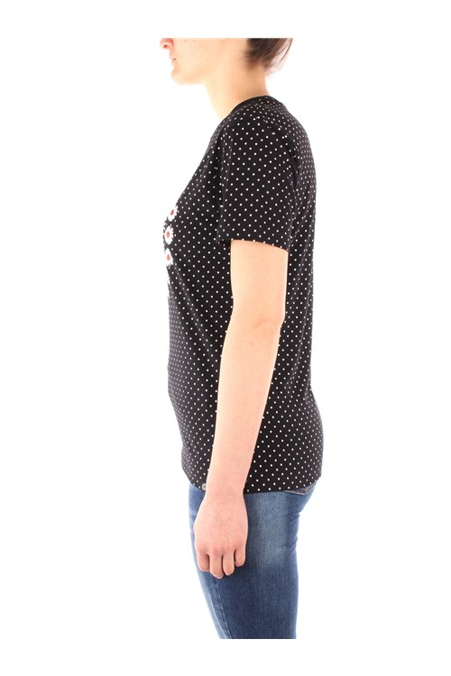 Desigual Short sleeve BLACK