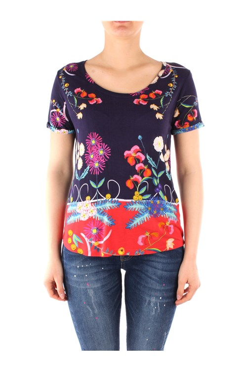 Desigual T-shirt NAVY BLUE