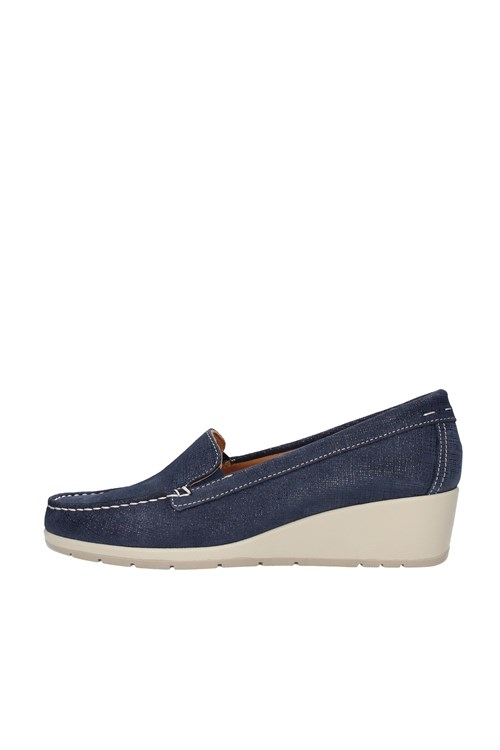 Cinzia Soft Loafers BLUE