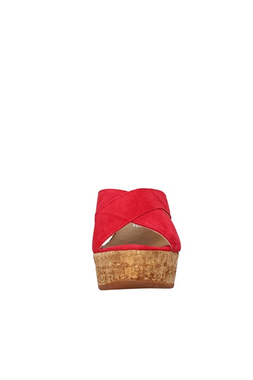 Cinzia Soft With wedge RED
