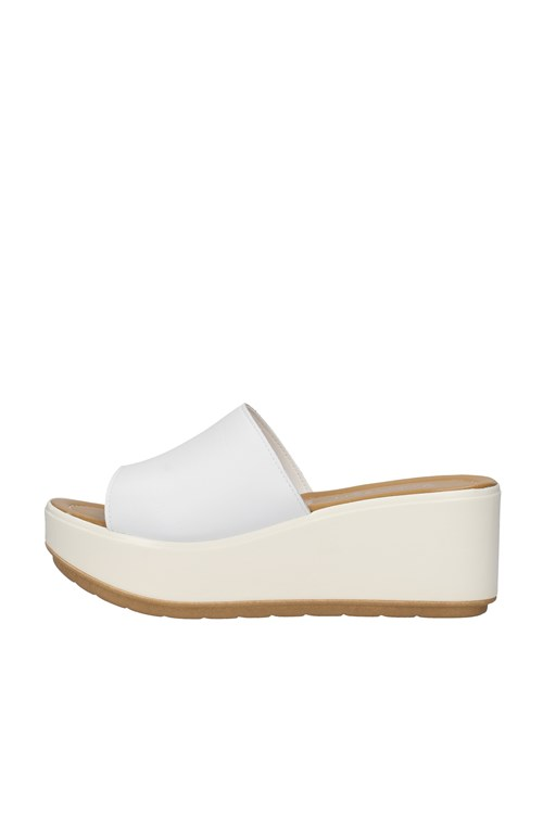Cinzia Soft With wedge WHITE